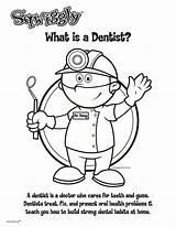 Dentist Sheet Coloring Sheets Dmd Activities Tpn Portland Happy Children Hi5 Interactive sketch template
