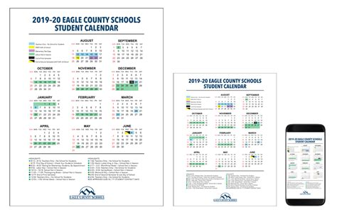 school calendars eagle county schools
