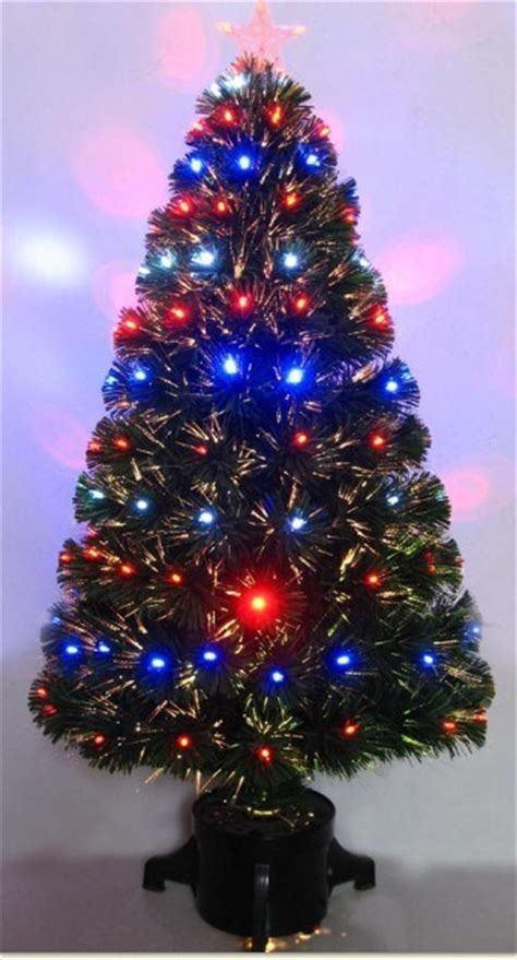 china changing clour led fiber optic christmas trees