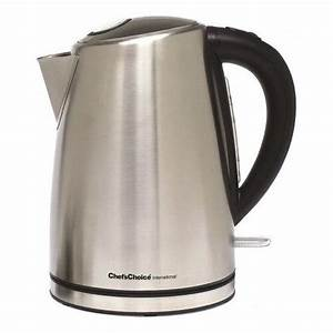 Cordless Electric Kettle Stainless Steel Tea Coffee Hot