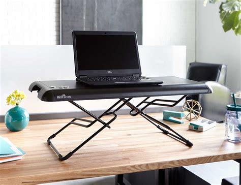 varidesk standing desk varidesk soho height adjustable standing desk 187 review