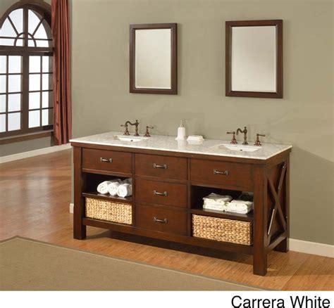 espresso extraordinary spa double vanity sink