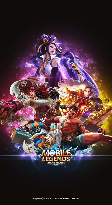 wallpaper mobile legends hd terbaru  terlengkap