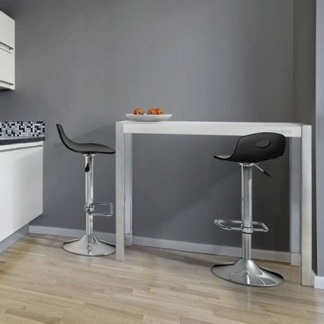 table de cuisine bar haute tabouret pour table snack