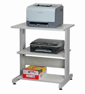 Petit Meuble Ordinateur : meuble pour poste imprimante par ~ Teatrodelosmanantiales.com Idées de Décoration