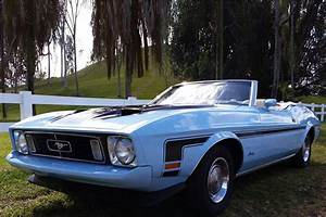 1973 FORD MUSTANG CONVERTIBLE - 184056