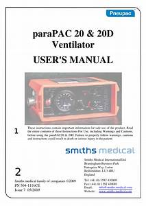 Smiths Medical Pneupac Ventilators