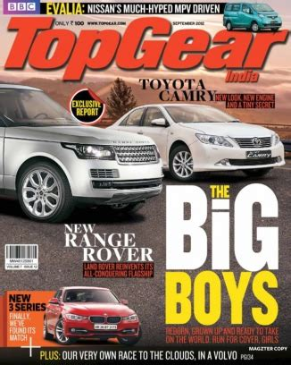 Bbc Topgear India Magazine September 2012 Issue  Get Your