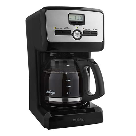 The ingenious brewing pause 'n' serve feature allows you to pour a cup of coffee, while the device is still brewing, so you don't have to wait for the full pot to be ready. Mr. Coffee® 12-Cup Programmable Coffee Maker, Black, BVMC-PJX23 BVMC-PJX23 - Mr. Coffee