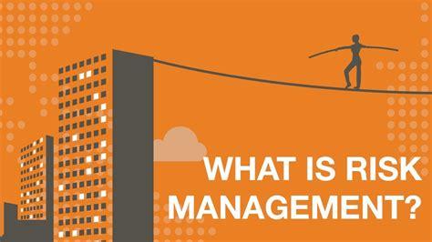 risk management risk management plan
