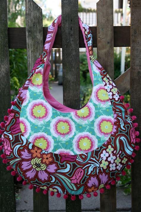 amy butler fringed hobo bag sew sweetness