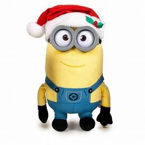 Plush MINION 30cm Christmas MINIONS KEVIN STUART BOB Xmas
