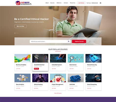 educational website design india college university
