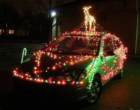 how to put christmas lights on your how to put christmas lights on your car see the type of