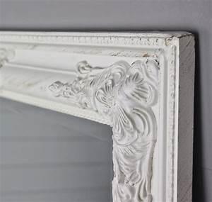 Wandspiegel Weiß Barock : spiegel wei antik 82x62 cm holz neu wandspiegel barock ~ Lateststills.com Haus und Dekorationen