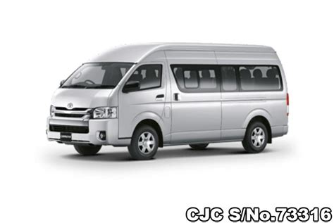 The hiace comes with improved safety, technology, & comfort. 2019 Toyota Hiace Commuter Silver for sale | Stock No ...