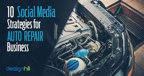 social media strategies  auto repair business