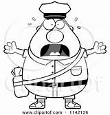 Cartoon Mail Postal Worker Mailman Stressed Chubby Clipart Coloring Drawing Thoman Cory Outlined Vector Getdrawings 2021 sketch template