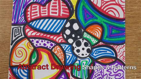 Abstract Drawing Using Shapes by Square 1 Project Abstract Shapes And Patterns