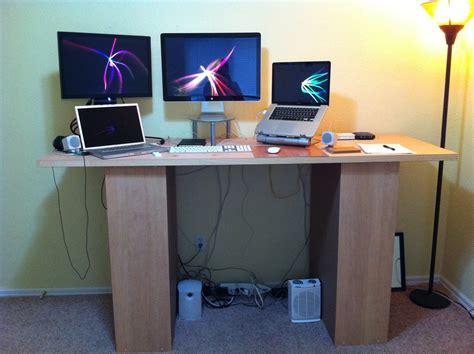 make a standing desk how to make a standing desk homesfeed