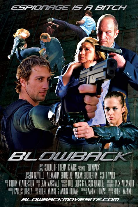 Looking for some blow? Find it in the 'Blowback' action ...
