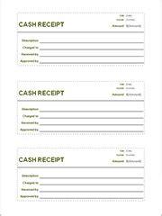 sample receipt template    documents