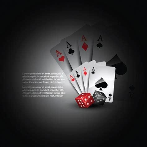 Ace Of Spade Wallpaper Playing Cards And Dice Vector Free Vector 4vector