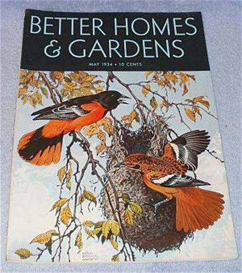 s better homes and gardens magazine may 1934