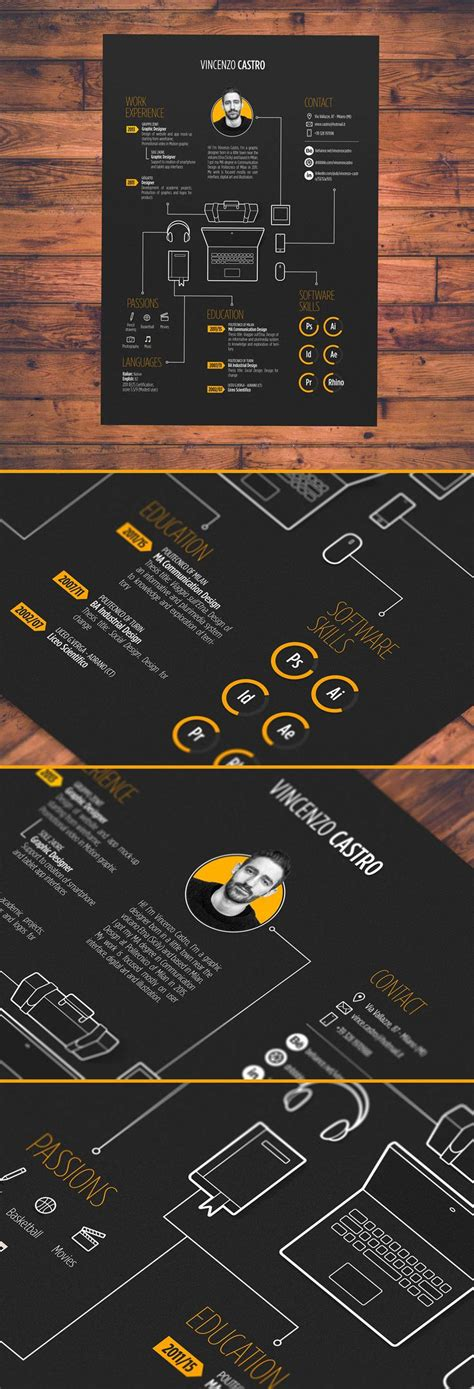 11871 creative graphic design resume 1212 best images about infographic visual resumes on