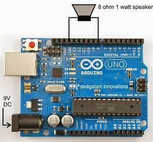 Arduino Siren Sound Generator Circuit