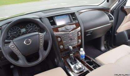 nissan armada road test review