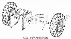 Mtd 31be665e118  2003  Parts Diagram For Wheel Assembly