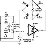 High Resistance Voltmeter Diy Electronics Projects
