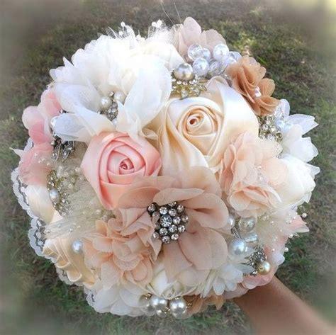 hermosos ramos novia vintage damas boda cristales broches