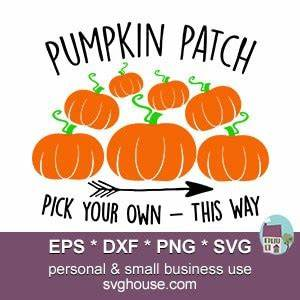 Brother Scan And Cut Design Software Pumpkin Patch Svg Instant Download For Silhouette Cricut