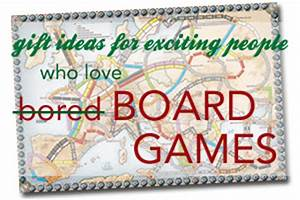 Christmas Gift Ideas for Exciting People Who Love Board Games