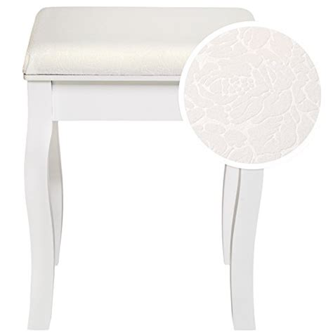 chaise pour coiffeuse tectake padded dressing table stool design