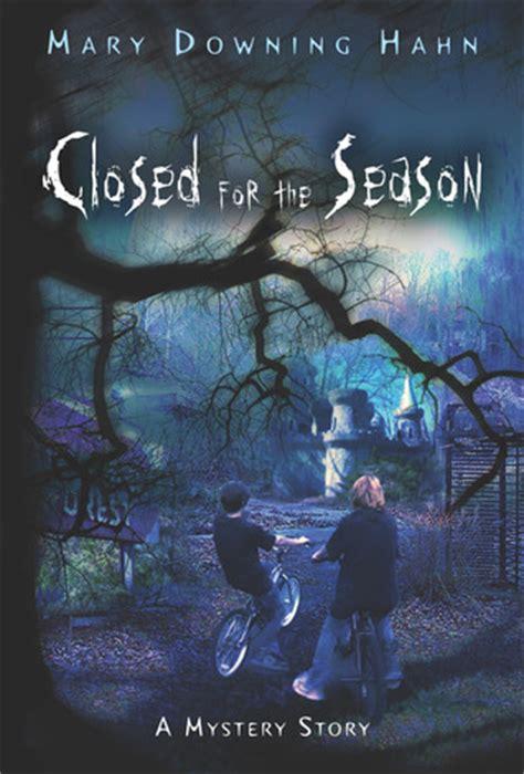 closed   season  mary downing hahn reviews