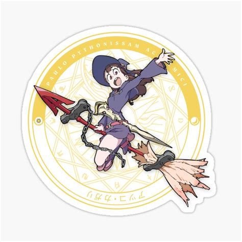 witch academia stickers redbubble