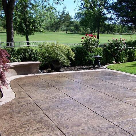 concrete patio cost calculator average cost  pour install