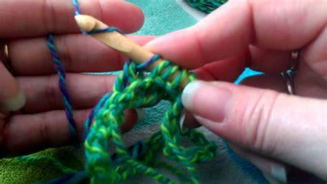 tunisian crochet    youtube