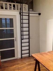 Echelle D Escalier : echelle escamotable acier pinteres ~ Premium-room.com Idées de Décoration
