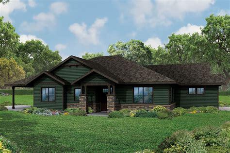 ranch house plan  baileyville  craftsman detailing   craftsman style house