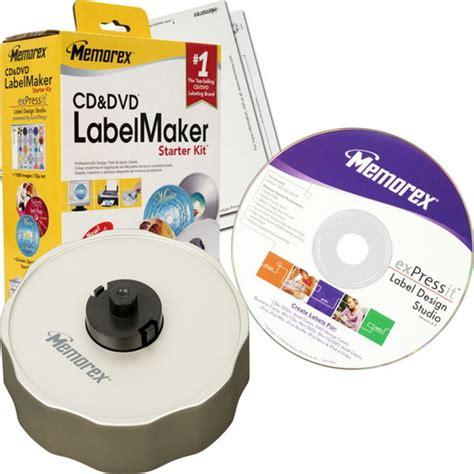 memorex expressit label design studio memorex cd dvd label maker starter kit retail pack ebay