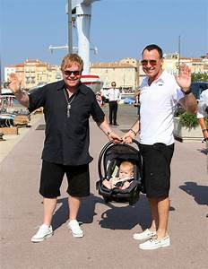 Sir Elton John and David Furnish in St Tropez - Pictures ...