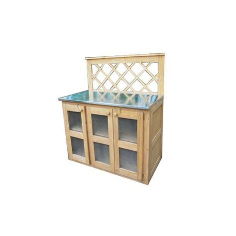 meuble cuisine bois et zinc meuble cuisine bois zinc wraste com