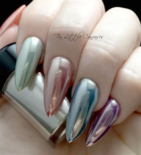 holographic stiletto nails pictures   images