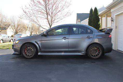 Mitsubishi Evo Pics by Graphite Grey Evo X Updated Pics Evolutionm