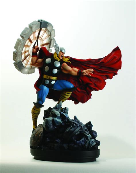 jul111881 thor classic action statue previews world