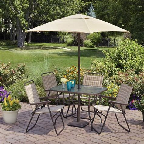 Cheap Patio Sets With Umbrella by 18 Best Inexpensive 4 Person Dining Patio Set Images On